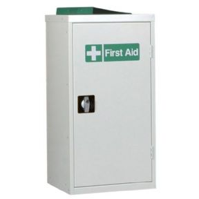 First Aid Single Door Cabinet - 2 Shelves